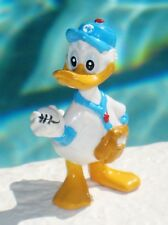 "Disney Donald Duck Playing Baseball Applause Pvc Figure 2"" tall Cake Topper"