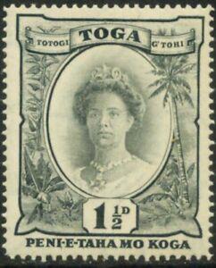 Kingdom of Tonga-1920 Queen Sālote Tupou III. MNH