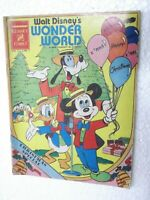 WALT DISNEY WONDER WORLD DONALD DUCK VOL 2 NO 1 CHANDAMAMA ENG Comic India