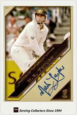 2011 Heritage Test Cricket Captains Blue Facsimile Signature #39: Mark Taylor