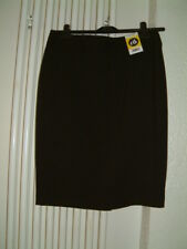 Ladies Size 12 Pencil Skirt Black Length 23""