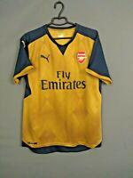 Arsenal London Jersey 2015 2016 Away L Shirt Mens Football Soccer Puma ig93
