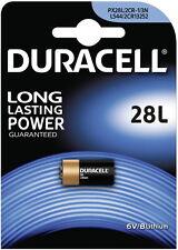 2 x Duracell Lithium Photo PX28L L544 2CRI/3N CR11108, 2 x 1er Blister, bis 2024