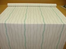13 Metres Green Beige Leaf Cotton Curtain Upholstery Quilting Roman Blind Fabric