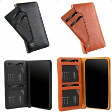 Luxury Leather Phone Case For Samsung A10 A20E A40 A50 A70 Flip Wallet Cover