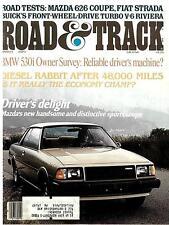 Road & Track March 1979-Mazda 626 Buick Turbo Riviera Fita Strada VW Rabbit 530i