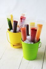 Zipzicles Reusable Zip Top Ice Pop Pouches 18 Packs - Zipzicle Zip-top Pop Molds