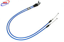 YAMAHA YZF YZ-F 450 2010-2013 AS3 VENHILL FEATHERLIGHT THROTTLE CABLES BLUE