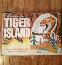 VTG The Game of Tiger Island 1966 Board Game IDEAL TOY CO.