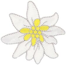 Edelweiss Edelweiss-Patch aufbügler Patch aplicación #9410 gamsbart Tracht