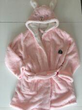 Primark Ladies Pink Rabbit Bunny Dressing Gown Hooded Bathrobe New 14 16 Pyjamas