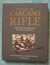 CARCANO RIFLES - Chegia & Simonelli (Superbly Done) *BRAND NEW BOOKS*