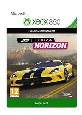 Forza Horizon XBOX 360 GIOCO COMPLETO XBOX ONE Chiave di download digitale