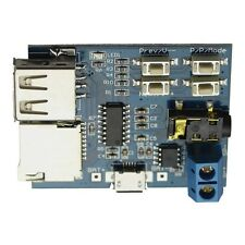 MP3 Format decoder amplifier TF card U disk audio Player module - US Seller