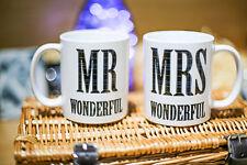 FUNNY MRS WONDERFUL MUG NOVELTY VALENTINES DAY MUG FOR HER