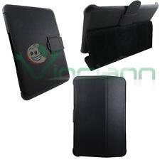 "Custodia cover Booklet NERA per Samsung Galaxy Tab 8.9 P7300 P7310 stand 8,9"""