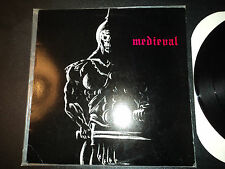 MEDIEVAL Reign Of Terror EP 1986 New Renaissance WEHRMACHT INDESTROY HOLOCROSS