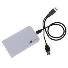 "USB 2.0 External Festplattengehaeuse Aluminium IDE 2.5"" J4D3 V5S6"