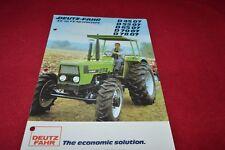 Deutz Fahr D 45 07 52 07 65 07 70 07 78 07 Tractor Dealers Brochure YABE14