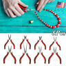 Jewelry Pliers Set 8pcs Tools DIY Equipments Wire Beading Nose Cutter Kit Repair