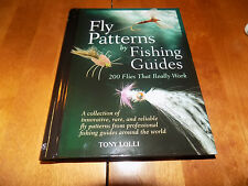 FLY PATTERNS BY FISHING GUIDES Type Flies Fisherman Fish Angler Pattern Book NEW