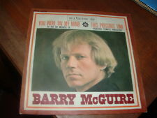 "BARRY McGUIRE "" YOU WERE ON MY MIND ( IO HO IN MENTE TE ) ""  ITALY'66"
