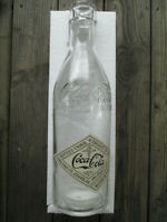 Coca-Cola Glass 20 Inch Bottle Reproduction Straight Sided Bottle