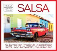 MEGA-SALSA (BOXSET) - COMPAY SEGUNDO,TITO PUENTE,CHEO FELICIANO+  4 CD NEW!