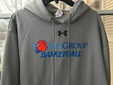 UNDER ARMOUR power group basketball sweatshirts LOOSE GRAY SIZE XL