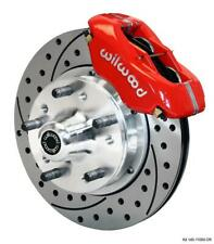 """Wilwood 140-11009-DR FDL Front Kit,11.00"""", Drilled, Red"""