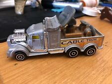 1999 Hot Wheels Haulers CABLE TRON Voltage Blasters Toy Car Truck China Mattel