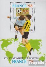 Laos Bloc 157 (complète edition) neuf avec gomme originale 1996 Football-WM ´98,