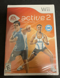 EA Sports Active 2 Nintendo Wii 2010 Software Game Sealed