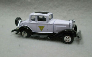 1932 FORD COUPE  NEW JERSEY STATE POLICE  Limited Edition 1/54 DIE-CAST