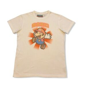 Super Paper Mario White T-Shirt!
