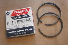 YAMAHA P35  P 35  1960s OUTBOARD GENUINE PISTON RING SET (0.50) - # 603-11601-21