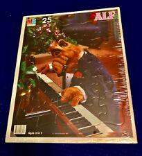 ALF 25 Piece Puzzle Piano 1987 Milton Bradley Frame Tray VINTAGE UNOPENED NEW
