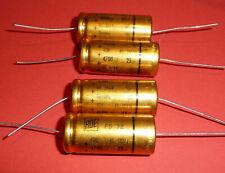 4x org. ROE Roederstein EGM 4700 uF µF 25V golden Bullet Vintage Audio Grade NOS