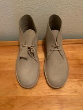 Clarks Mens Desert Boot Sand Suede Ankle Boots Size US 12 New Without Box