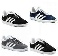 Adidas Originals Gazelle Trainers Casual Shoes Sneakers Trainer Black Navy Grey