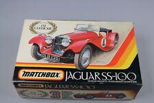 ZF1309 Matchbox 1/32 maquette voiture PK-304 Jaguar SS-100 Classique