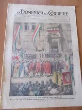 DOMENICA del CORRIERE 25/1925 Coppa Gordon Bennet, Ancarano, Giro d'Italia