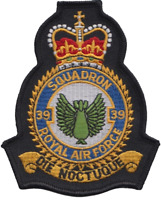 No. 39 Squadron Royal Air Force RAF Crest MOD Embroidered Patch