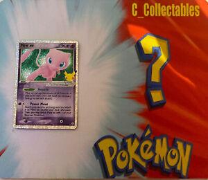 Pokemon Card Mew EX Holo Celebrations 88/92 Secret Rare 25th Anniversary Mint