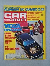 Car Craft Magazine December 1978 - 350 Camaro Z/28 - Chevy Vega - Monza - NHRA