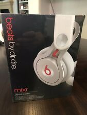 Beats by Dr. Dr Dre Mixr Special Edition David Guetta Headphones White Red New !