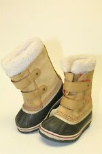 Sorel NC1865-373 Pac Strap Toddlers Kids Girls 9 26 Waterproof Suede Snow Boots