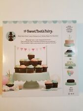 Cake Cupcake Sweet Stand American Crafts Sweet Tooth Fairy NIB Mint Color