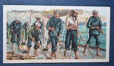 Royal Navy  Coaling     Original 1905 Vintage Card