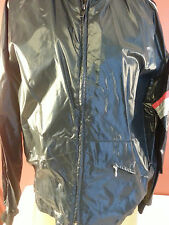 Vtg Men's HONDALINE HONDA Nylon Racing MOTORCYCLE BLACK Jacket XL WINDBREAKER